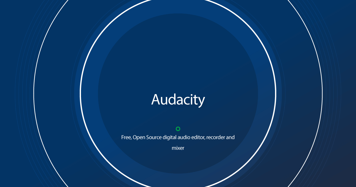 Download Audacity latest release