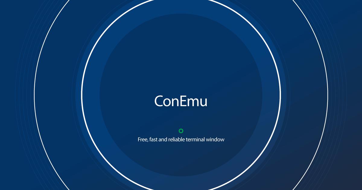 Download ConEmu latest release