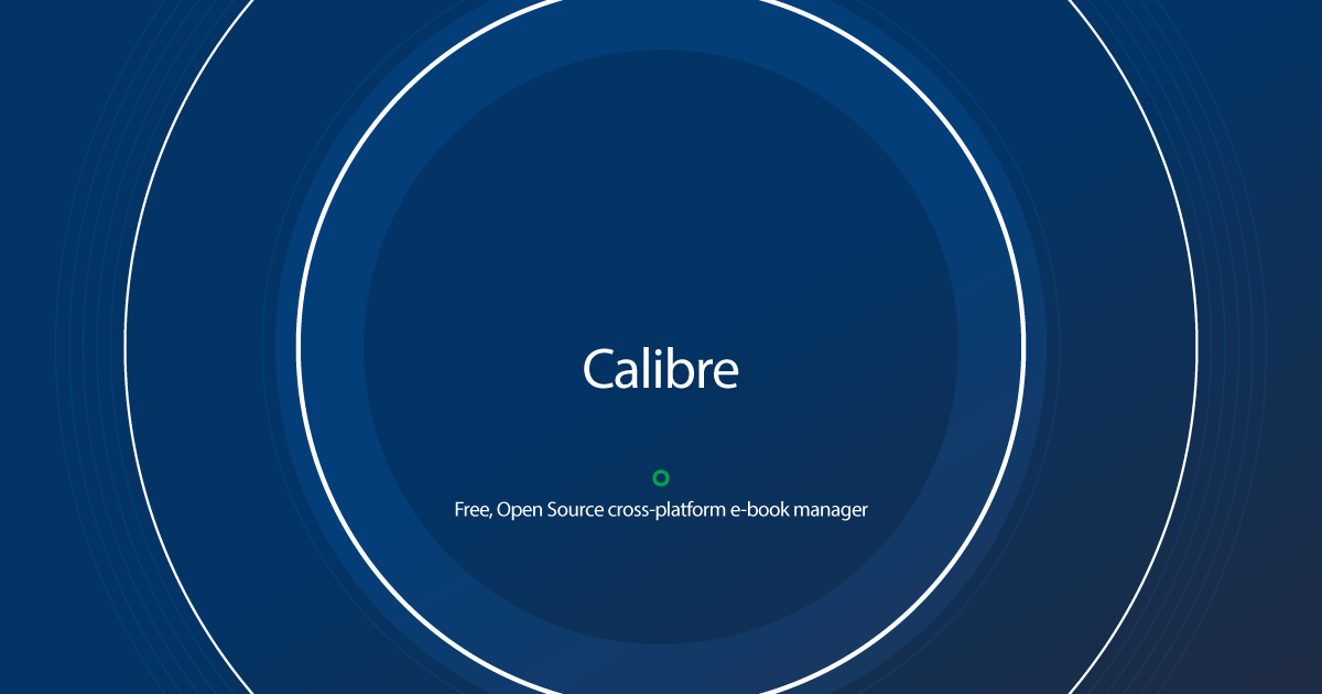Download Calibre latest release