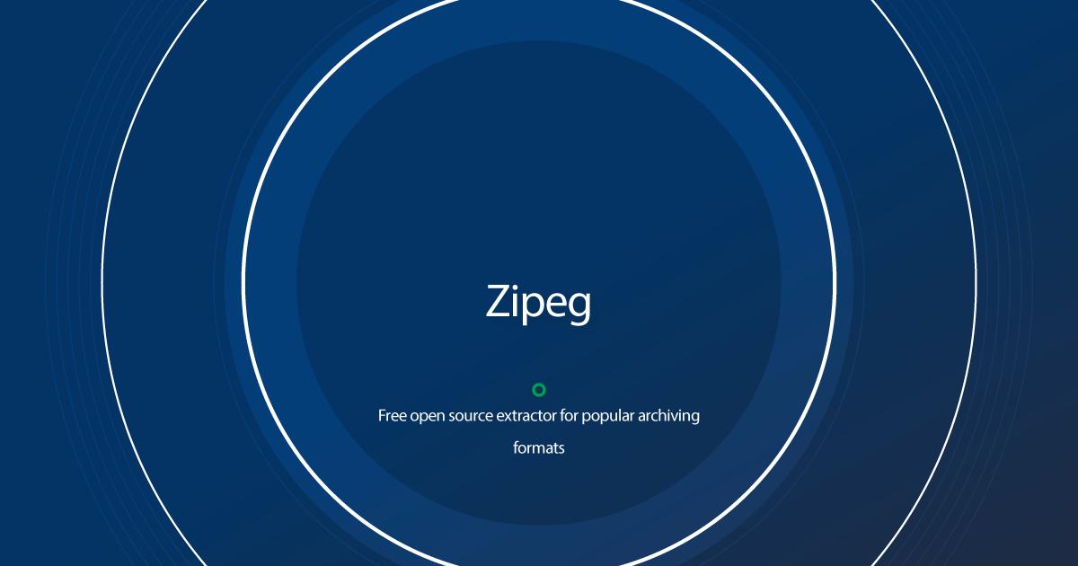 Download Zipeg latest release