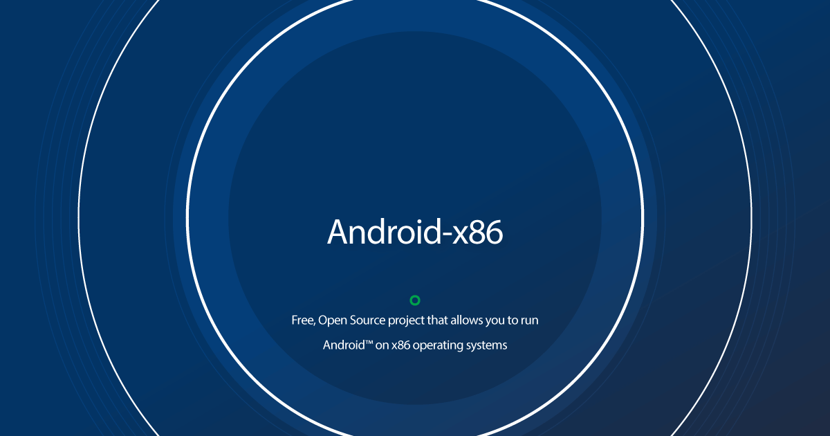 Download Android-x86 latest release