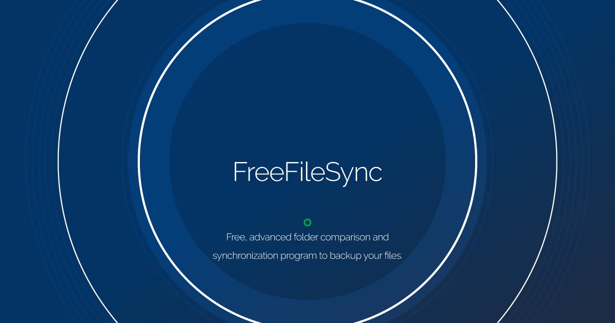 Download FreeFileSync latest release