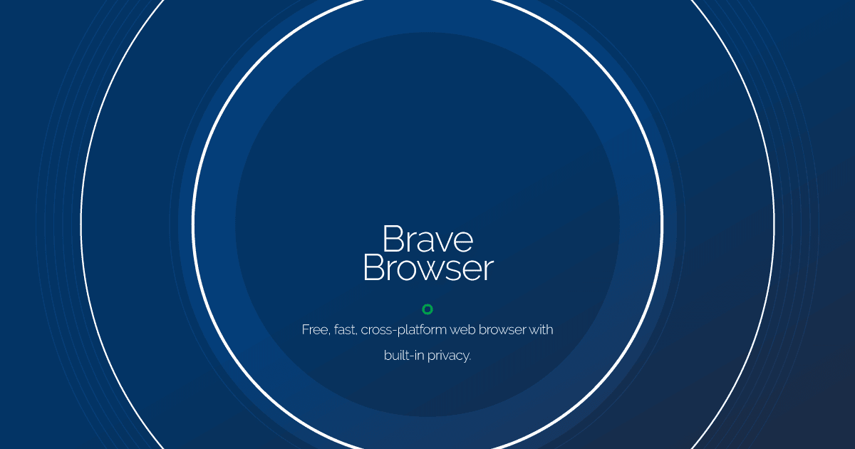 Download Brave Browser latest release