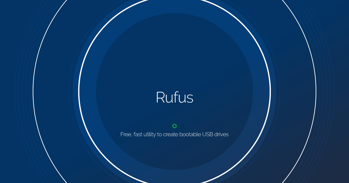 Download Rufus latest release