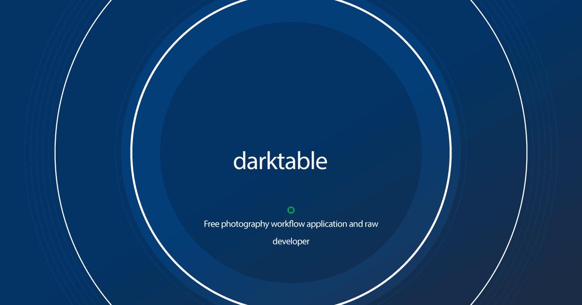 Download darktable latest release