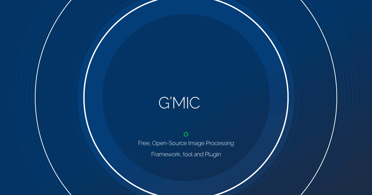 Download GMIC latest release